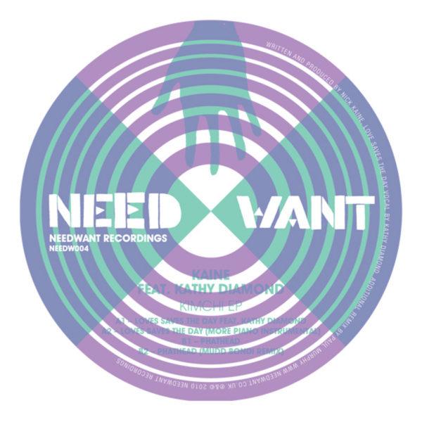 Kaine Feat. Kathy Diamond - Love Saves The Day EP