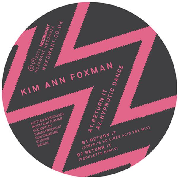 Kim Anna Foxman - Return It